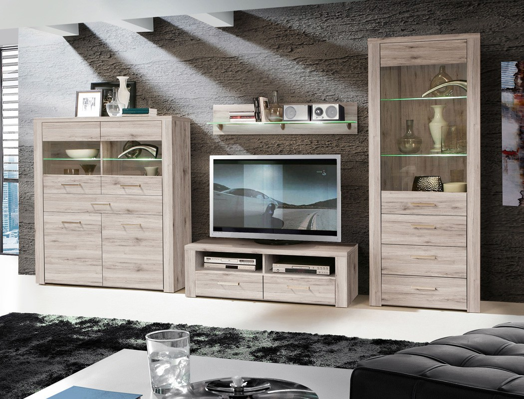 vitrine phil 4 sandeiche 127x144x41 cm glasvitrine beleuchtung wohnbereiche esszimmer sideboards. Black Bedroom Furniture Sets. Home Design Ideas