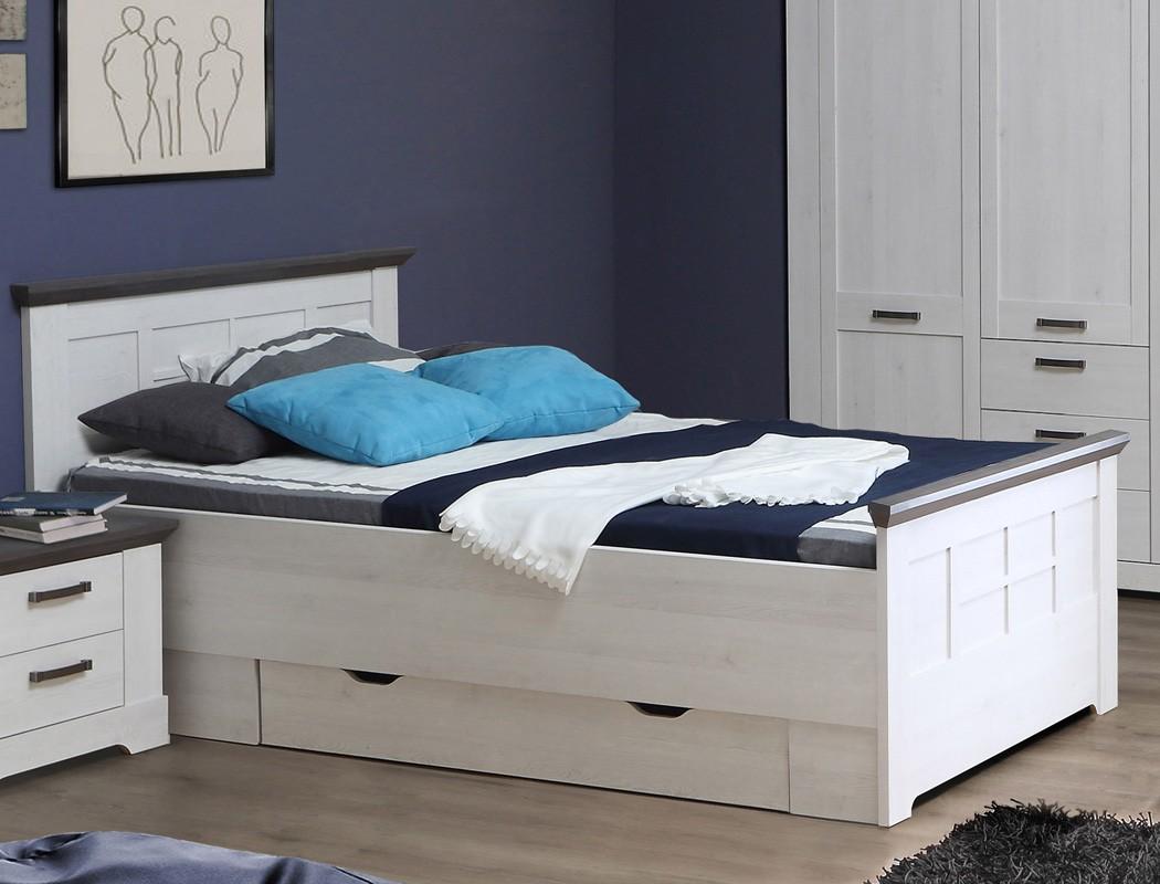 schlafzimmer gaston 60 wei grau 5 teilig jugendzimmer. Black Bedroom Furniture Sets. Home Design Ideas