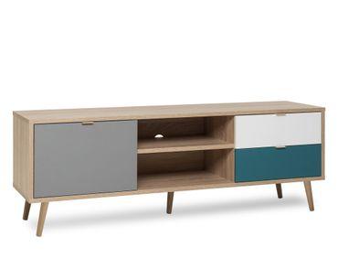 TV-Board Havanna 54 Sonoma Eiche 150x52x40 cm Lowboard TV-Schrank
