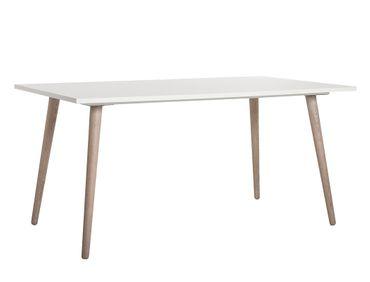Esstisch Malmö 50 weiß Sonoma Eiche 160x90x75 cm Esszimmertisch Tisch