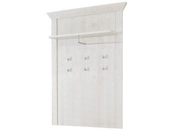 Garderobenpaneel Kasimir 54 Pinie weiß 98x154x8 cm Wandpaneel Flur