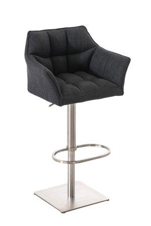 Barhocker dunkelgrau Barstuhl Stuhl Stühle Esszimmer Küche 44855157