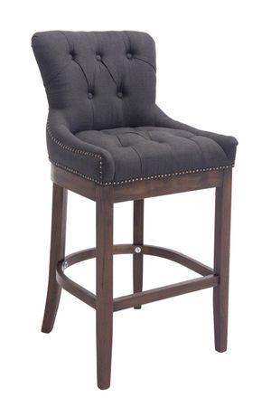 Barhocker dunkelgrau Barstuhl Stuhl Stühle Tresenmöbel Küche 44855232