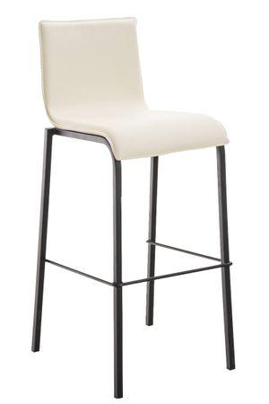 Barhocker Kunstleder creme Barstuhl Stuhl Stühle Tresenmöbel 44855245