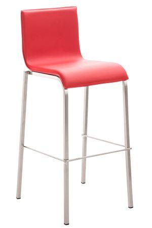 Barhocker Kunstleder rot Barstuhl Stuhl Stühle Tresenmöbel 44855263