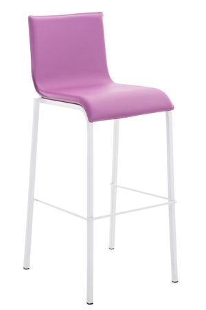 Barhocker Kunstleder lila Barstuhl Stuhl Stühle Tresenmöbel 44855272