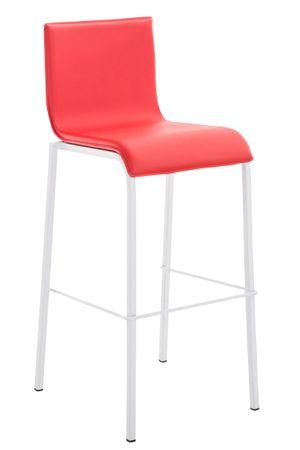 Barhocker Kunstleder rot Barstuhl Stuhl Stühle Tresenmöbel 44855274