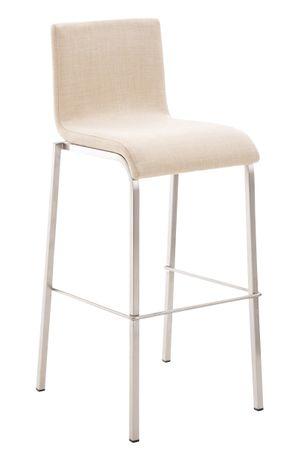 Barhocker Stoff creme Barstuhl Stuhl Stühle Küche Tresenmöbel 44855283