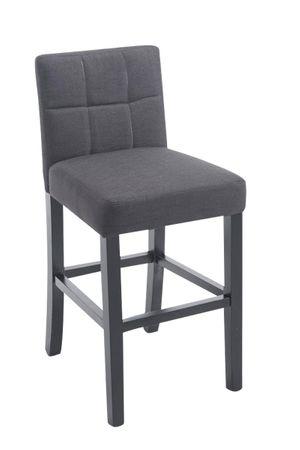 Barhocker Stoff dunkelgrau Barstuhl Stuhl Stühle Tresenmöbel 44855314