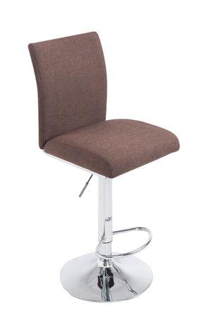 Barhocker Stoff braun Barstuhl Stuhl Stühle Küche Tresenmöbel 44855331