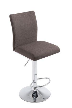 Barhocker Stoff dunkelgrau Barstuhl Stuhl Stühle Tresenmöbel 44855333