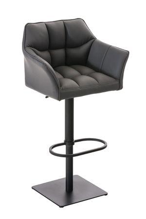 Barhocker Kunstleder grau Barstuhl Stuhl Stühle Tresenmöbel 44855354