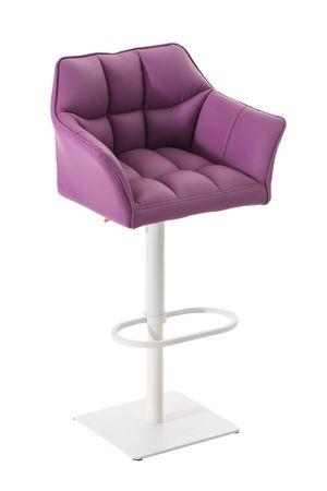 Barhocker Kunstleder lila Barstuhl Stuhl Stühle Tresenmöbel 44855388