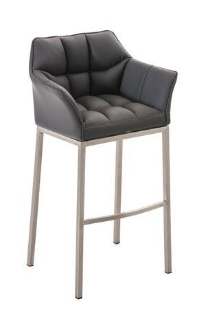 Barhocker Kunstleder grau Barstuhl Stuhl Stühle Tresenmöbel 44855394