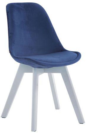 Polsterstuhl Stoff blau Esszimmerstuhl Stuhl Stühle Esszimmer 44855419