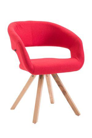 Polsterstuhl Stoff rot Esszimmerstuhl Stuhl Sessel Stühle 44855516