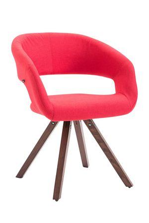 Polsterstuhl Stoff rot Esszimmerstuhl Stuhl Sessel Stühle 44855526