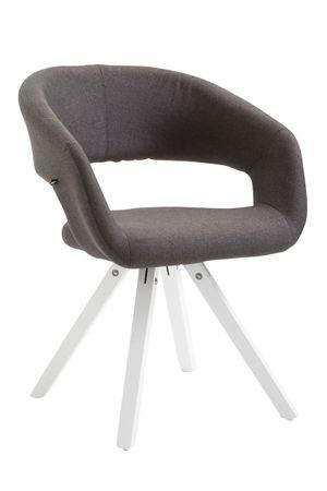Polsterstuhl Stoff dunkelgrau Esszimmerstuhl Sessel Stühle 44855529