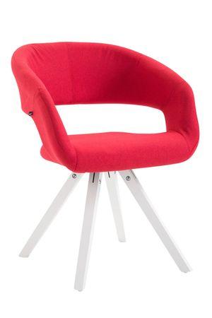 Polsterstuhl Stoff rot Esszimmerstuhl Stuhl Sessel Stühle 44855531