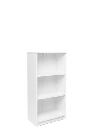 Bücherregal Koblenz 25 weiß 55x112x35 cm Standregal Medienregal Regal