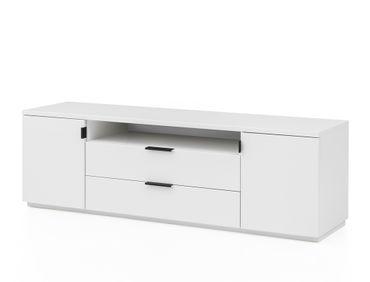 Lowboard Mutina 6 weiß 170x55x45cm TV-Board TV-Schrank TV-Möbel