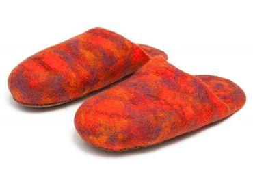 Crazy Slippers Orange Gr. 38 – Bild 1