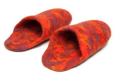 Crazy Slippers Orange Gr. 39 – Bild 2