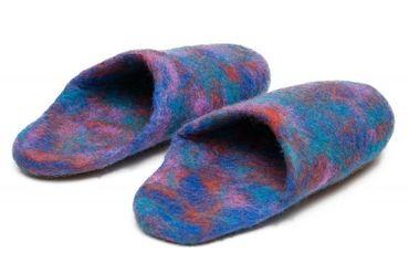Crazy Slippers Blau Gr. 43 – Bild 2