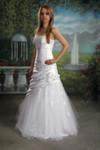 figurbetontes Brautkleid Feminin Kleid Hochzeitskleid A-Linie neu  001