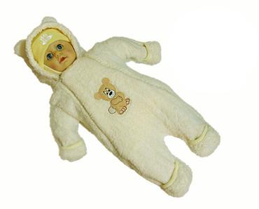 Overall Winteroverall Babyoverall Wagenanzug Winter Anzug Strampler Babyjacke – Bild 4