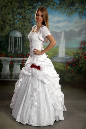 Brautkleid Bolero Hochzeitskleider Duchesse Herzogin neu Berlin Hamburg Köln – Bild 1