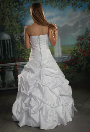 Brautkleid Bolero Hochzeitskleider Duchesse Herzogin neu Berlin Hamburg Köln – Bild 3