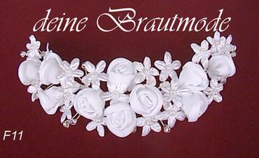 Brautschleierabschluss Brautschleier-Haarschmuck Haargesteck zum Schleier