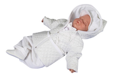 SET Mantel Festanzug Latzhose Jacke Taufe Baby Taufhemd Taufjacke Taufkleidung – Bild 2