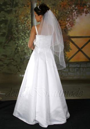 Hochzeitskleid Brautkleid Bolerojacke Hochzeit Kleid Träger Bolero Jacke – Bild 4