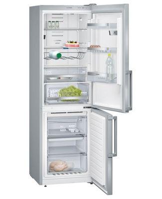 Siemens Stand-Kühl-Gefrier-Kombination KG36NHI32 iQ500, 60 cm, 320 l, Edelstahl, noFrost, Multi Airflow, hyperFresh 0°C, Home Connect, Kamera, A++