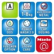 Miele Waschtrockner WTZH 700-30