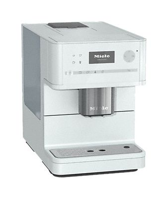 Miele Stand-Kaffeevollautomat CM 6150, Lotosweiss, Bohnensystem, OneTouch, Cappuccinatore
