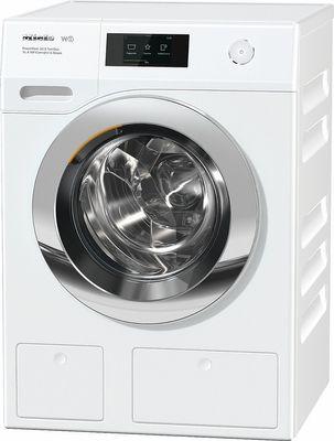 Miele Waschmaschine WCR 800-90 CH  ChromeEdition, 9 kg Schontrommel, PowerWash-System, CapDosing, TwinDos, SoftSteam - Blendenausführung 16° geneigt, A+++