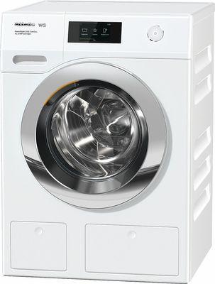 Miele Waschmaschine WCR 700-70 CH  ChromeEdition, 9 kg Schontrommel, PowerWash-System 2.0, CapDosing, TwinDos, Vorbügeln - Blendenausführung schräg, A+++ -40%