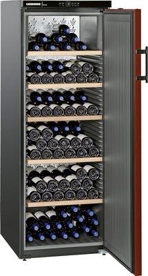 LIEBHERR Weinklimaschrank  WKR-4211-21 Bordeauxrot und schwarz