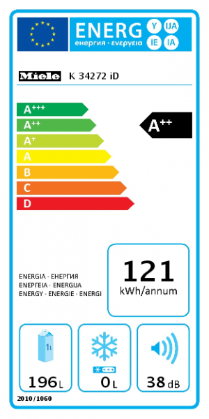 Miele Einbau-Kühlschrank K 34272 iD