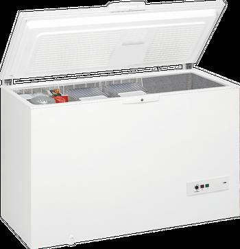 Whirlpool Energiespar-Gefriertruhe WHM 39112, A++, 390 l, Schnellgefrierschalter, Tür-/Temperaturalarm, Innenbeleuchtung