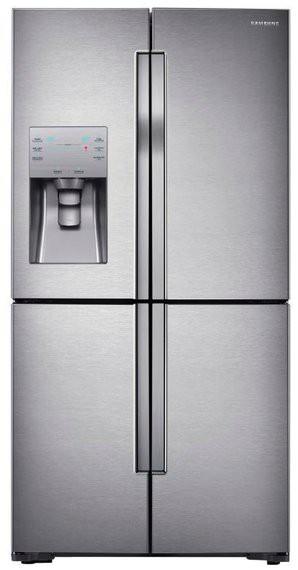 Kühl-Gefrier-Kombination RF56J9071SR/WS - T9000 - 564 l, No Frost, Multi Flow, CoolSelect, Wasserspender, A++