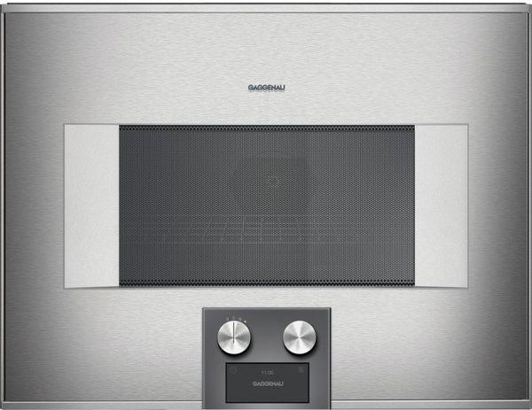 gaggenau mikrowellen backofen bm 454 110 rechtsanschlag. Black Bedroom Furniture Sets. Home Design Ideas