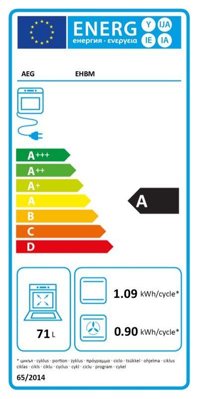 ᐅ Aeg Einbau Elektroherd Ehbm Chromstahl