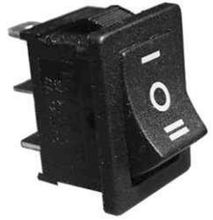 Mini-Wippenschalter MRS-103-C6 Ein-Aus-Ein