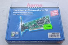 hama Fast Ethernet PCI Card 100 Mbps