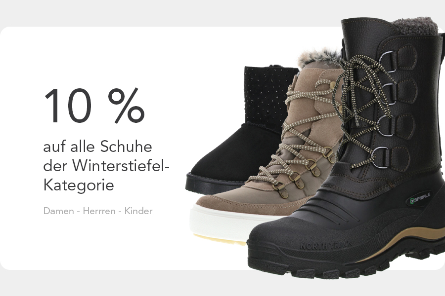 Winterstiefel Aktion 2021 Mobile
