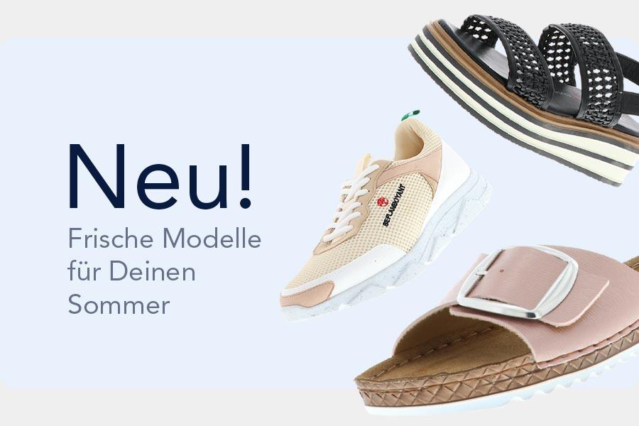 Neue Sommermodelle Mobile